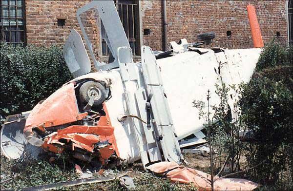 Elicottero Niguarda : Incidente hems cassolnovo